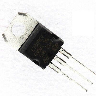 10pcs L7809cv L7809 Lm7809 St To-220 Voltage Regulator Ic 9v 1.5a