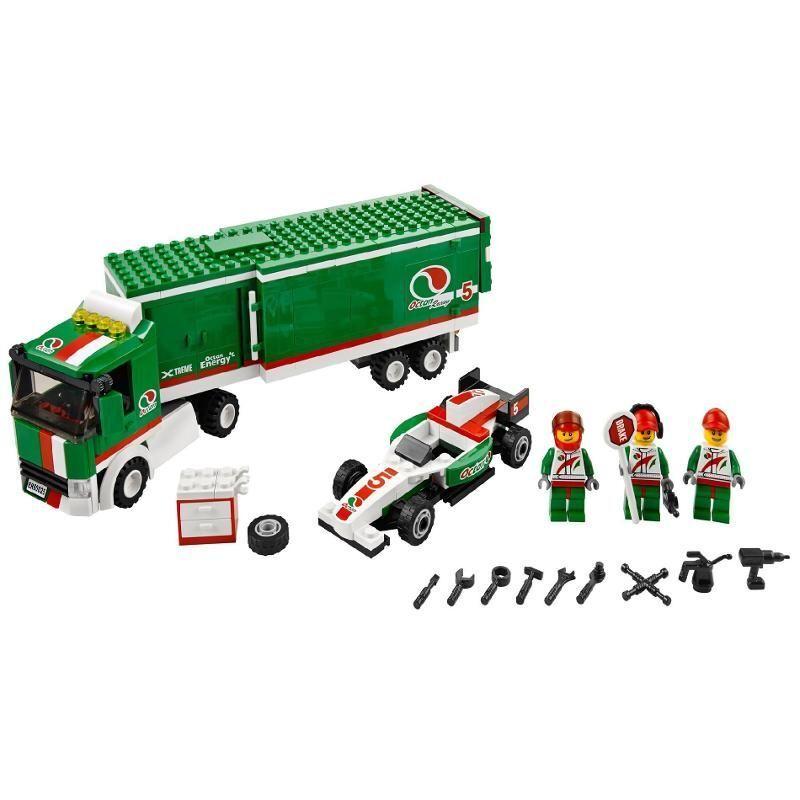 top 5 lego truck sets on ebay ebay. Black Bedroom Furniture Sets. Home Design Ideas