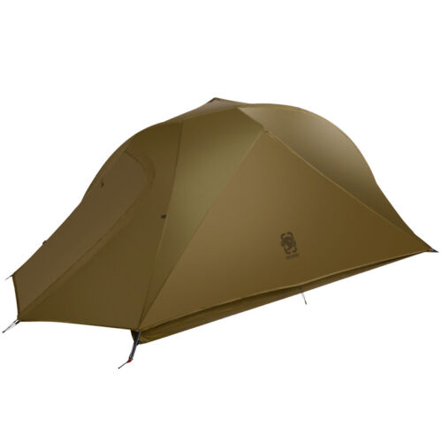 OneTigris 1 Person Camping Tent Waterproof Tunnel Double Lay