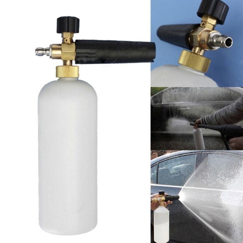 1L Metal High Pressure Washer Snow Foam Cannon Lance Soap Car Wash Gun