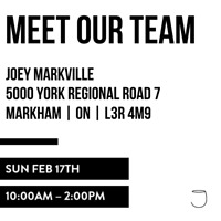 JOEY Markville Hiring Fair - All Positions Front & Back of House