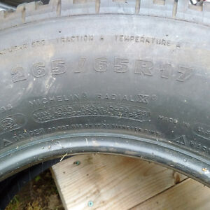 Michelin ltx at2 265/65r17 all season West Island Greater Montréal image 2