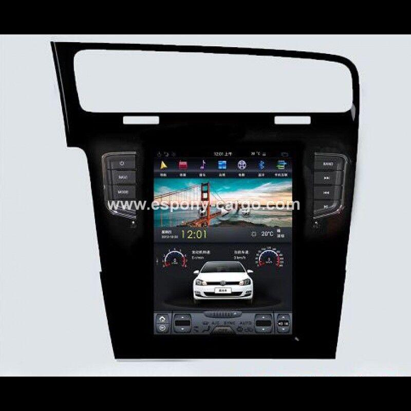 "10.4"" Tesla style Navigation Vertical Screen Android Radio for Volkswagen Golf 7"