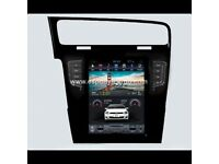 "10.4"" Tesla style Navigation Vertical Screen Android Radio for Volkswagen Golf 7"