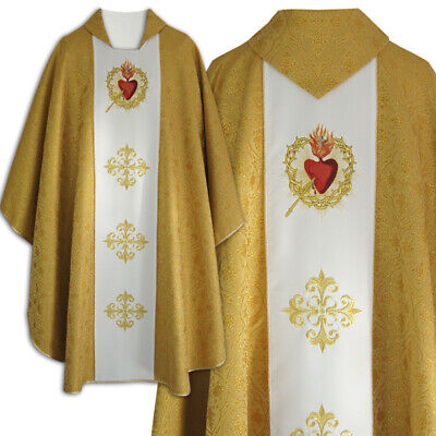 Vestments - Gold Chasuble - Vatican