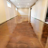 Epoxy Flooring // Metallic system - 514-561-1829