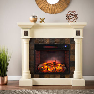 Carrington Electric fireplace - brand new in box - Retail $980
