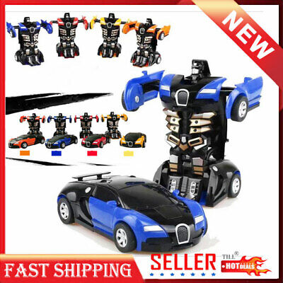 Car Toys For Kids (Toy Robot Cars For Boys Transformer Cool Xmas Gift Kids Toddler Car Vehicle)