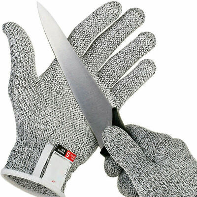 Cut Resistant Butcher Gloves Anti-cutting Safety for Kitchen Outdoor Explore -