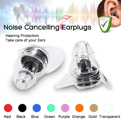 Professional Noise Cancelling Ear Plugs Hearing Protection Sleeping Music Work