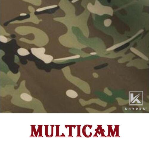 KRYDEX Camouflage Sticker Tactical Camo Elastic Cloth DIY Decal Wrap Multicam