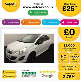 Vauxhall/Opel Corsa 1.2i FROM £25 PER WEEK.