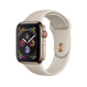 Apple Watch Series 4 ( GPS+Cellular) Gold Stainless Steel 44mm