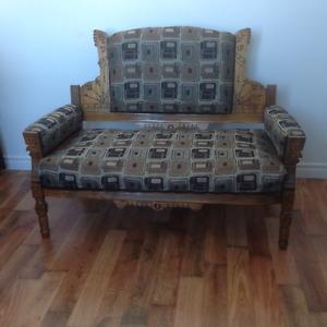 Banc antique /Love sit