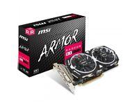 RADEON RX 570 ARMOR 4gb GDDR5 PCI-EXPRESS GRAPHICS CARD