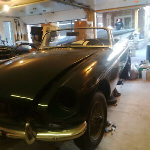 1969 MGB and 1971 Parts Car for Sale or Trade