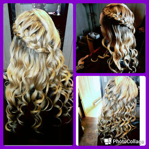 Travelling Hairstylist for bridal parties! London Ontario image 3