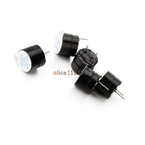 10PCS 5V Active Buzzer Magnetic Long Continous Beep Tone Alarm Ringer 12MM