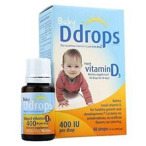 D drops for babies