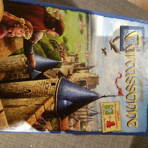 Used once Carcassonne board game