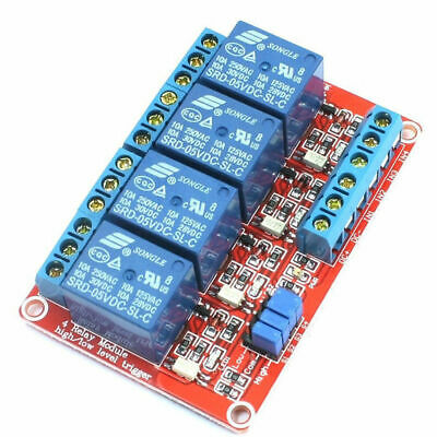 Usa 5 Vdc10 Amp 4-channel High Low Level Input Relay Boards