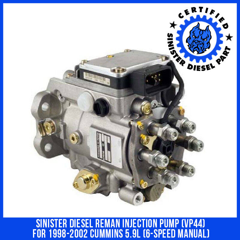 1x 1998-2002 NEW 24v vp44 Dodge RAM Cummins For Diesel Injector Stock 245HP 6spd