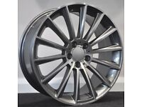 "19"" Merc twist / S600 Style alloy wheels & tyres Suitable for most Mercedes C & E Class models"