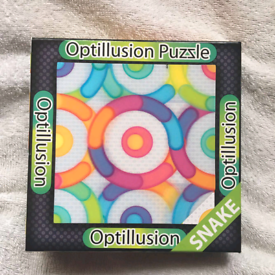 Opitical illusion puzzle