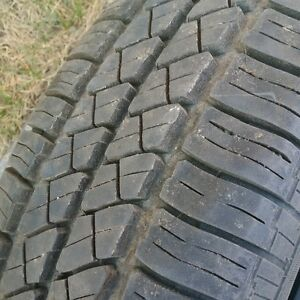 2 TIRES FOR SALE 205/70/15 CONTINENTAL TOURING LX