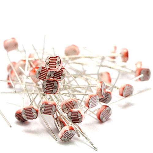 Photoresistor kit 5value 50pcs 5506 5516 5528 5537 5539 5mm Resistor for Arduino