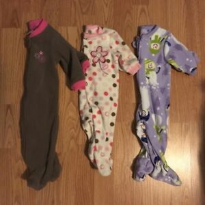 0-3 month fleece sleepers