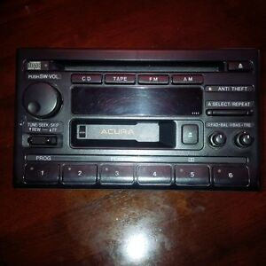1996 Acura TL CD Player and Cassette $20