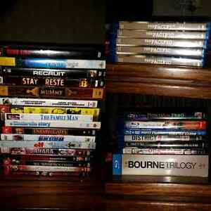 Blurays and dvds $40 for the lot