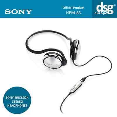 GENUINE SONY ERICSSON HPM-83 -  STEREO HEADPHONES PORTABLE HANDSFREE  Hands Free Portable Headphones