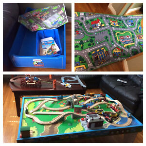 Authentic Thomas the Train double sided train table