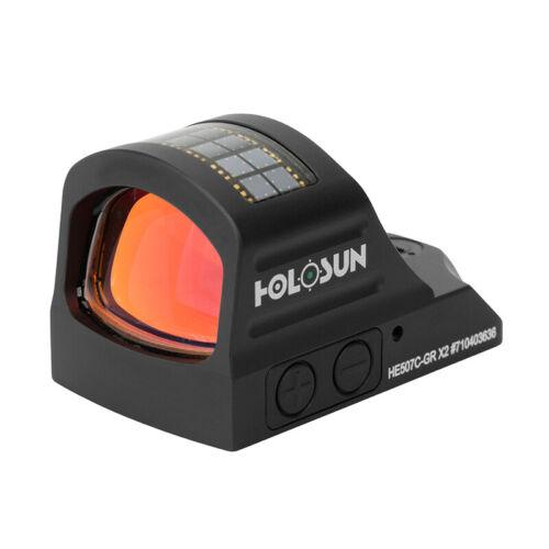 Holosun HE507C-GR X2 Green Dot Reflex Sight for Pistol
