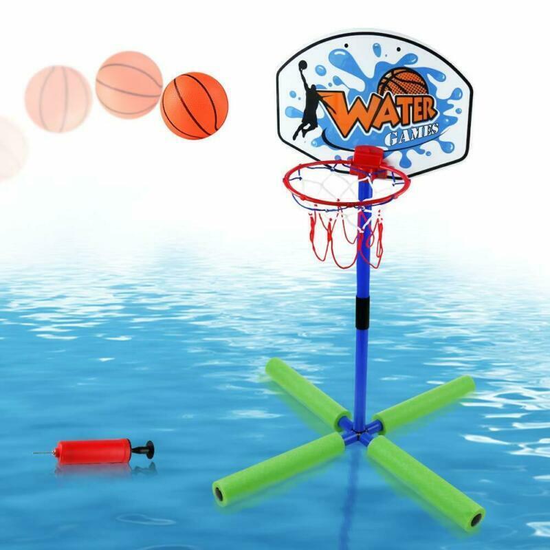 "Pool Basketball Hoop Toys 30"" Height Floating Stuff Swimming Pool Games Poolsi"