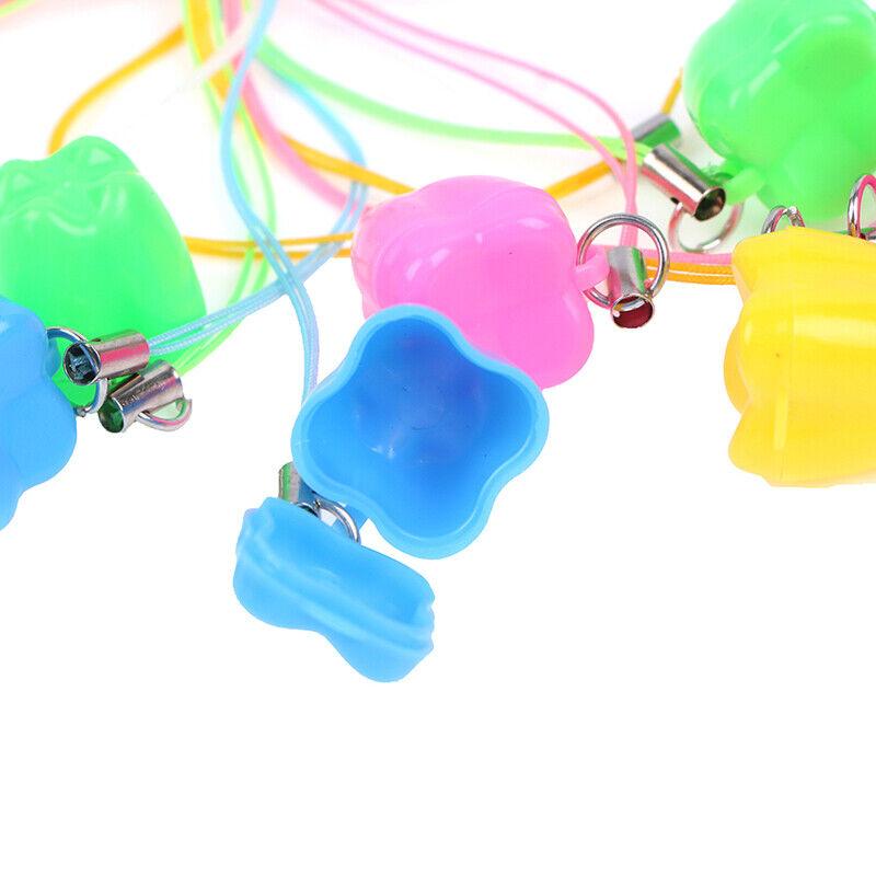 как выглядит 10pcs Colorful Baby Kids Tooth Storage Box Organizer Milk Teeth Keepsake Holder фото