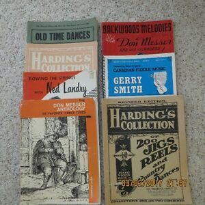 Old Time Fiddle Music Books.