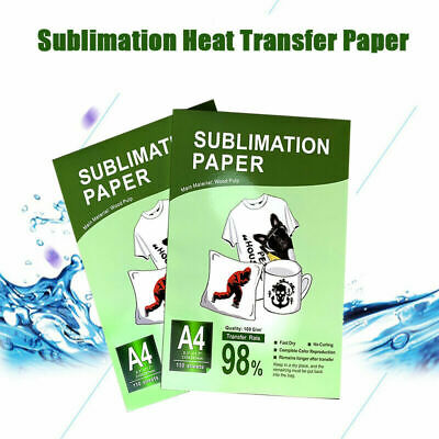 220 Pcs A4 Dye Heat Sublimation Paper Print Iron On Mug Cotton Polyester T-shirt