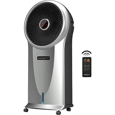 Portable Evaporative Swamp Cooler Fan, Air Humidifier Floor Conditioner & Remote