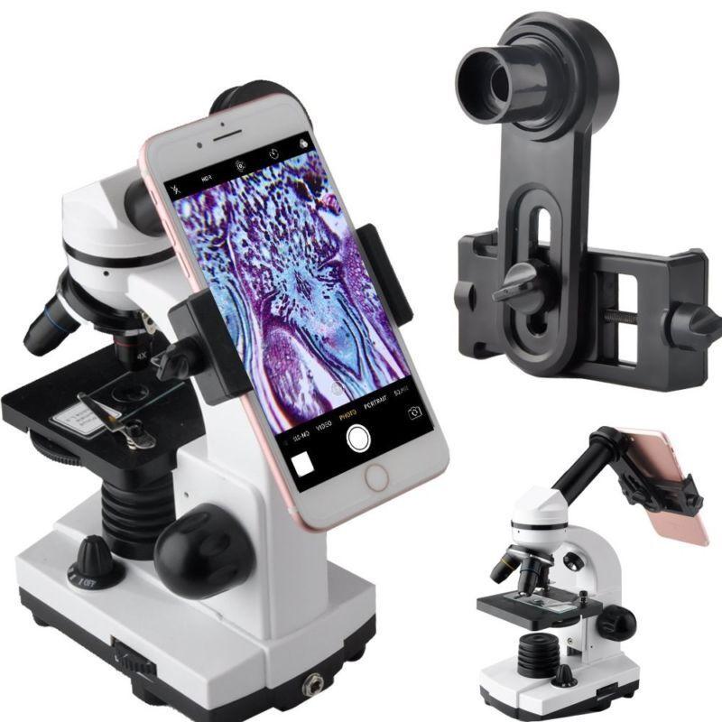 Gosky Microscope Lens Adapter, Microscope Smartphone Camera Adaptor