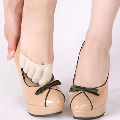 Fashion Women High Heels Sock Yoga Sandal Invisible Half Footie toe Socks - Toe Footies