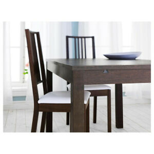IKEA extendable table and four chairs