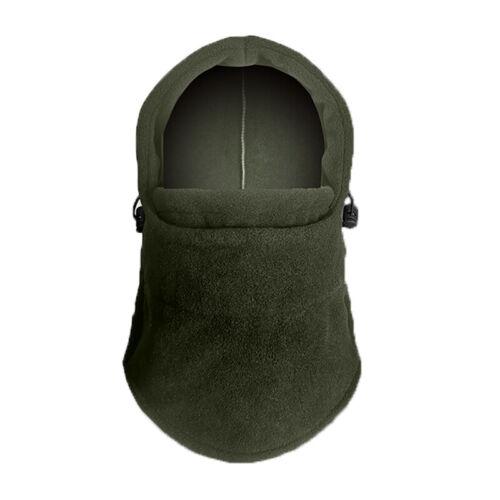 Winter Fleece Neck Warm Balaclava Hat Full Face Mask Hood Cap Windproof Ski Men