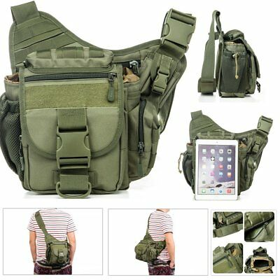 Men's Casual Travel Bags Military Tactical Nylon Shoulder Messenger Bag Handbags