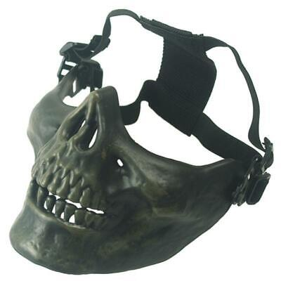 Skeleton Riding Mask (Bicycle Mask half face protection Airsoft Riding Skull)