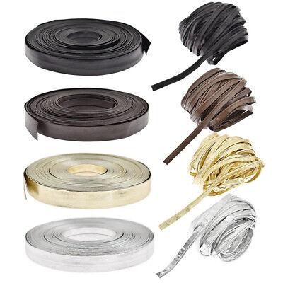 Trim Edge Banding - 10 Meters PU Leather Sewing Ribbon Webbing Edge Banding Trimming Strip DIY Craft