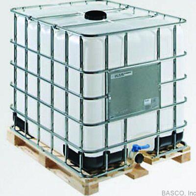 Za 275 Gallon Ibc Tote Metal Cage Wood Pallet Liquid Storage Wvo Fuel Oil