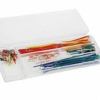 1 Set 140pcs Solderless Breadboard Jumper Cable Wire Kit Box Diy For Arduino